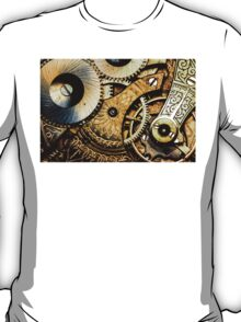 Gears and Age (color version) T-Shirt