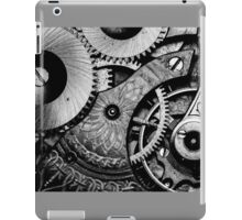 Gears and Age (black and white version) iPad Case/Skin