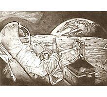 Astronaut drawing Photographic Print