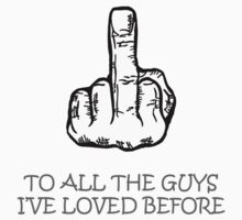 Middle finger - For the gals by misformaniacal