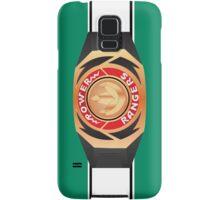 MMPR Green Ranger Morpher/Buckle Phone Case Samsung Galaxy Case/Skin