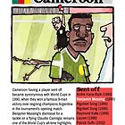 Red Cards - Cameroon by dotmund