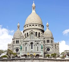 Basilica of Sacre Coeur by PatiDesigns