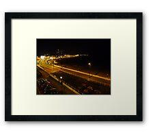 Night Landscape of Margate Framed Print