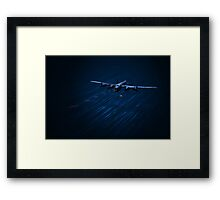 The Bouncing Bomb Framed Print
