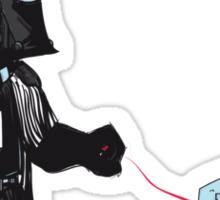 Walking the Robot Sticker