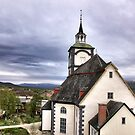 Church in the sky by LadyFi