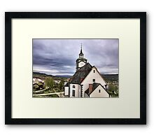 Church in the sky Framed Print