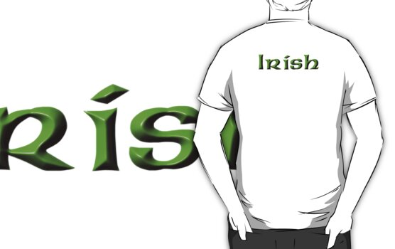 Irish, Ireland, Eire by TOM HILL - Designer