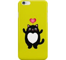 Fat Cat iPhone Case/Skin