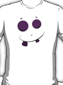 Funny Smiling Purple Face T-Shirt
