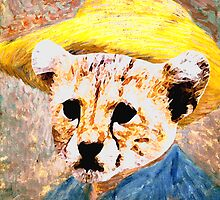 vincent Van Gough Edited Kitty by Rob Cox