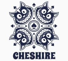 Cheshire Originals - Cheshire Spade Burst Sticker by CheshireGoMad