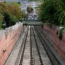 Buda Castle Funicular by phil decocco