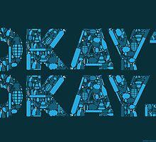 OKAY? OKAY. TFIOS POSTER by Bryant Nichols