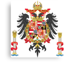 The Coat of Arms of Charles V Canvas Print