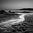 A flow to sea, Coigach Scotland by Cherrybom