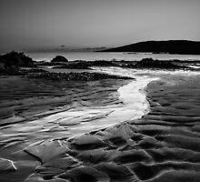 A flow to sea, Coigach Scotland by Cherrybom