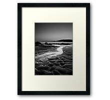 A flow to sea, Coigach Scotland Framed Print