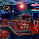 Grump's Garage  by Mike Pesseackey (crimsontideguy)