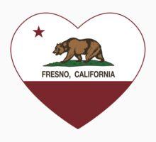 Fresno California Love Heart  Kids Clothes