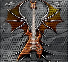 Death Metal Guitar by Bluesax