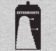 Dalek within Tardis Kids Clothes