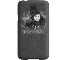 Jon Snow ( Game of Thrones )  Samsung Galaxy Case/Skin