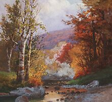 Autumn in the Berkshires by Bridgeman Art Library
