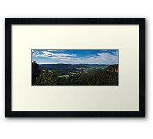 Kangaroo Valley, NSW Framed Print