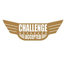 Challenge Accepted Banner by Style-O-Mat