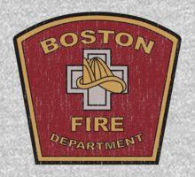 Boston Fire Department by WickedCool