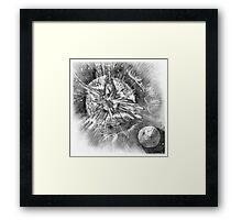 End of Earth, 2047 Framed Print
