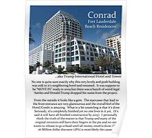"""Fort La Tee Dah """"The Conrad"""" Poster"""