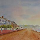 Marine Parade Hythe Kent by Beatrice Cloake