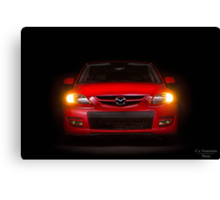 Mazda Speed 3 Canvas Print