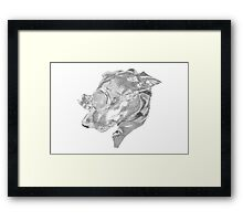 Steampunk Dog Framed Print
