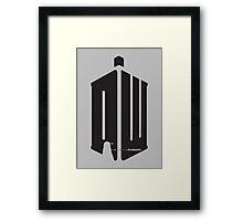 Dalek (exterminate) Framed Print