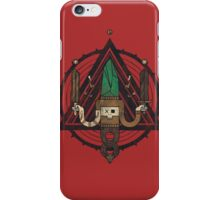 He, with the peculiar voice iPhone Case/Skin