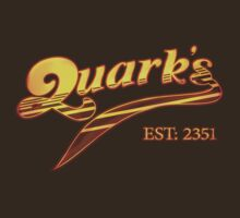 Quark's Bar Tee by Reverendryu