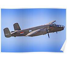 B-25J Mitchell - Shoreham 2013 Poster