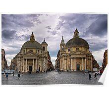 Piazza Del Popolo Poster