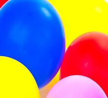 Party balloons by Timothyoleary