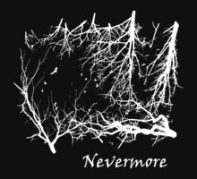 Nevermore (for dark t-shirts) by Lyubomir Gizdov