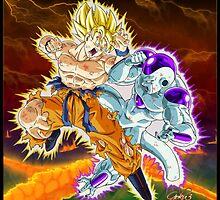 Dragon Ball Z - Duel on a Vanishing Planet! by EternalParadox