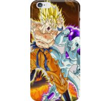 Dragon Ball Z - Duel on a Vanishing Planet! iPhone Case/Skin