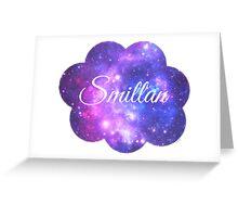 Smillan (White Font) Greeting Card