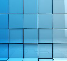 Cubes background by carloscastilla