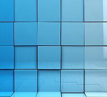 Cubes background by carloscastilla