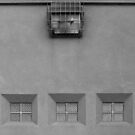 Three Little Windows © by Ethna Gillespie